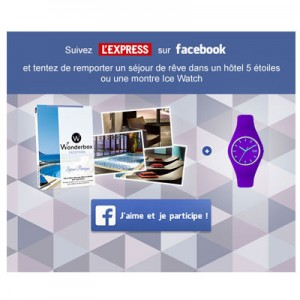 Emailing jeu facebook