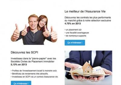 Emailing responsive Les Monsieurs