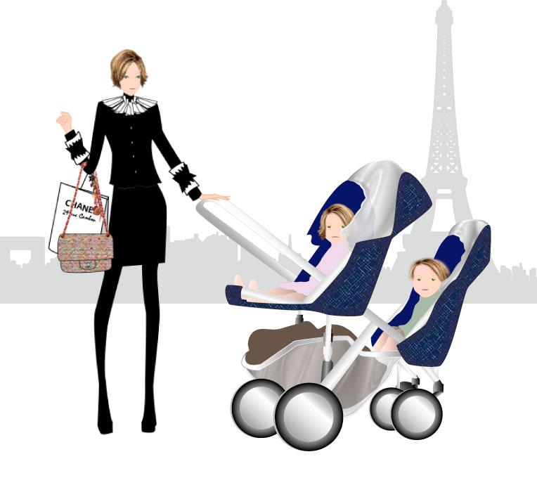 Illustration pour blog Budget Familial : Comment Maman Gère Son Argent