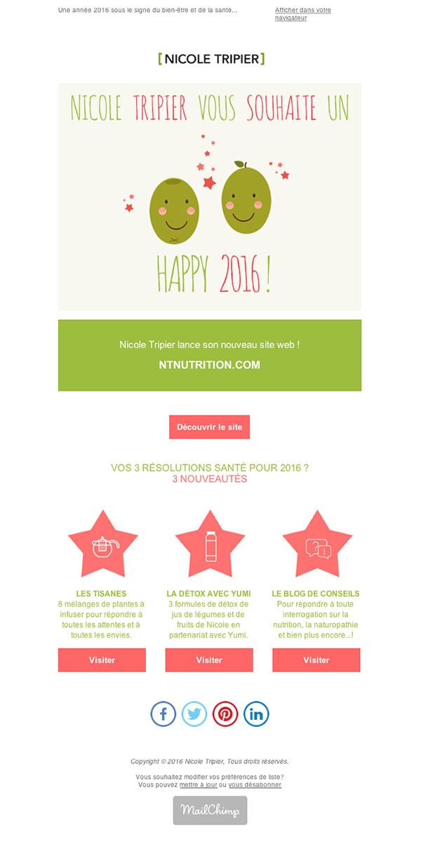 Happy 2016 ! Lancement du site ntnutrition.com